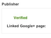 Verified Google+ Publisher Markup