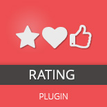 Purple Heart Rating Plugin de WordPress