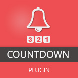 Countdown WordPress Plugin for WooCommerce