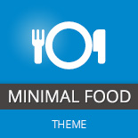 Minimal Food WordPress Theme