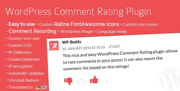 Comment Rating WordPress Plugin