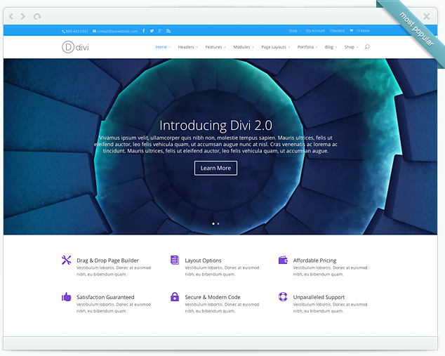 Divi from ElegantThemes
