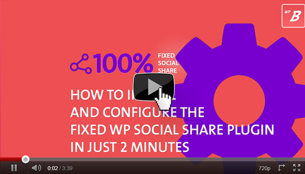 How to install the Fixed WordPress Social Share Plugin