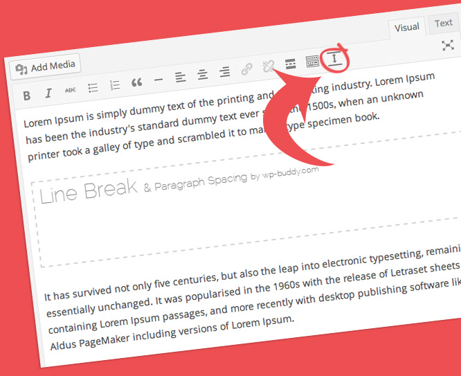 WordPress Paragraph Spacing and Line Breaking Plugin